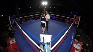 Ultra White Collar Boxing | Manchester | Zak English VS Max Hertzog