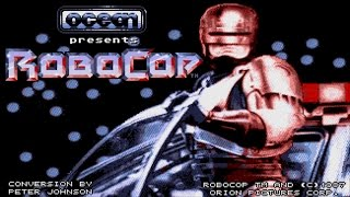 Robocop game review (Amiga/Arcade/Atari ST/PC Dos/C64)