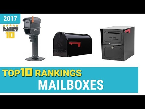Mailboxes Top 10 Rankings, Reviews 2017 & Buying Guides