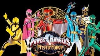 Power Rangers Mystic Force - Sigla + Link Episodi