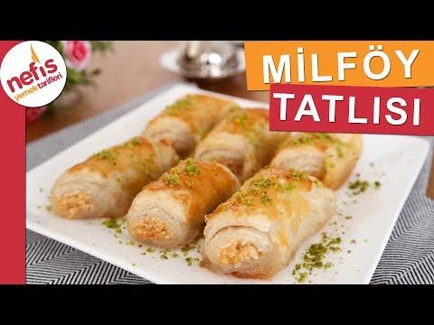 Şerbetli Milföy Tatlısı - Pratik Tatlı Tarifleri