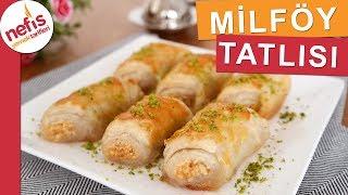 Şerbetli Milföy Tatlısı - Pratik Tatlı Tarifleri - Nefis Yemek Tarifleri
