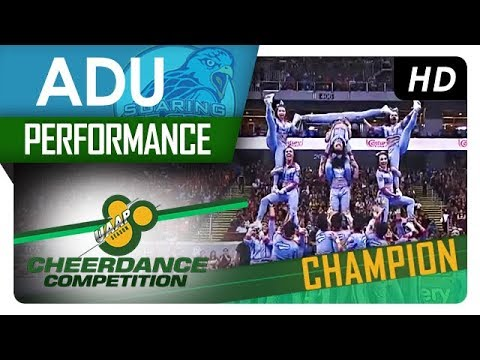 UAAP 80 Cheerdance Competition | Performance | Adamson University - Champion