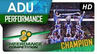 UAAP 80 Cheerdance Competition Performance Adamson University Chion