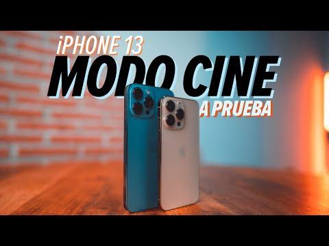 Modo cine en el iPhone 13: ¿mejor que una cámara profesional? | Review en español