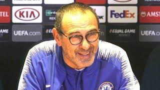 Chelsea 1-0 MOL Vidi - Maurizio Sarri Full Post Match Press Conference - Europa League