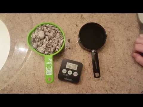 Cat Litter, affordable, home made, Natural absorbency test, DIY