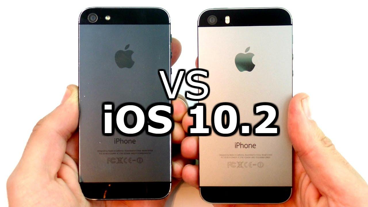 iphone 5s ios 12 ios 10