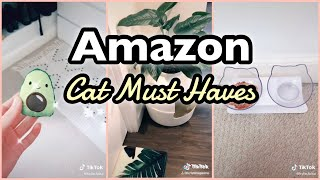 TikTok Compilation || Amazon Cat Must Haves with Links! Cat Finds and Favorites!