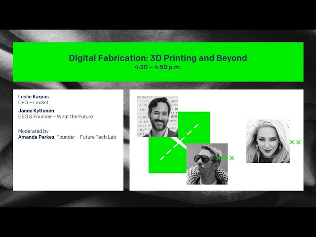 Digital Fabrication 3D Printing and Beyond - Day 1 ReMake