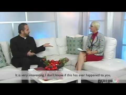 The Rev. Alfredo Feregrino on TV Azteca