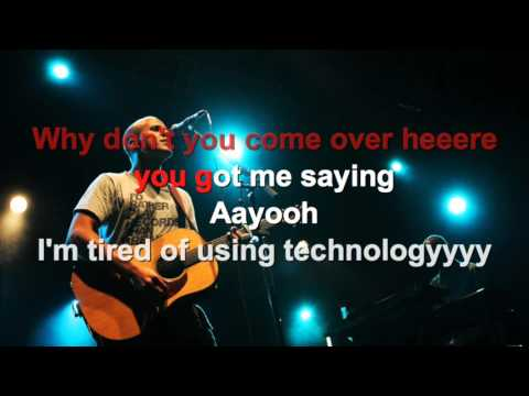 Milow - Ayo Technology - Karaoke con testo