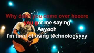 Milow - Ayo Technology - Karaoke con testo