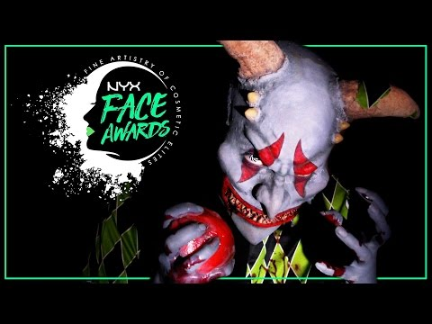 ZOMBIE JACK IN THE BOX • NYX Face Awards Germany Top 10 Challenge | #nyxfaceawardsgermany