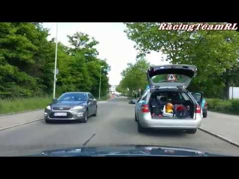 Unfall Crash VW Passat vs VW Polo