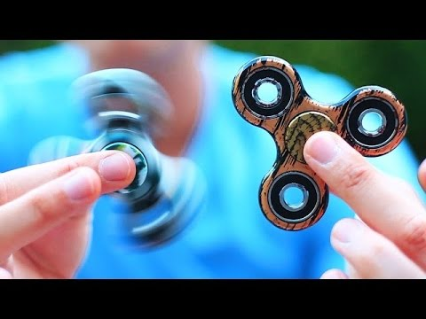 FIDGET SPINNER Toys and Tricks - PEOPLE ARE OBSESSED   What's Trending EXPLAINED