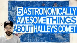 Halleys Comet Facts