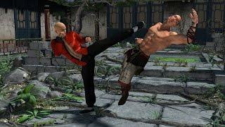 Урок боковой удар ногой Боевое Кунг фу