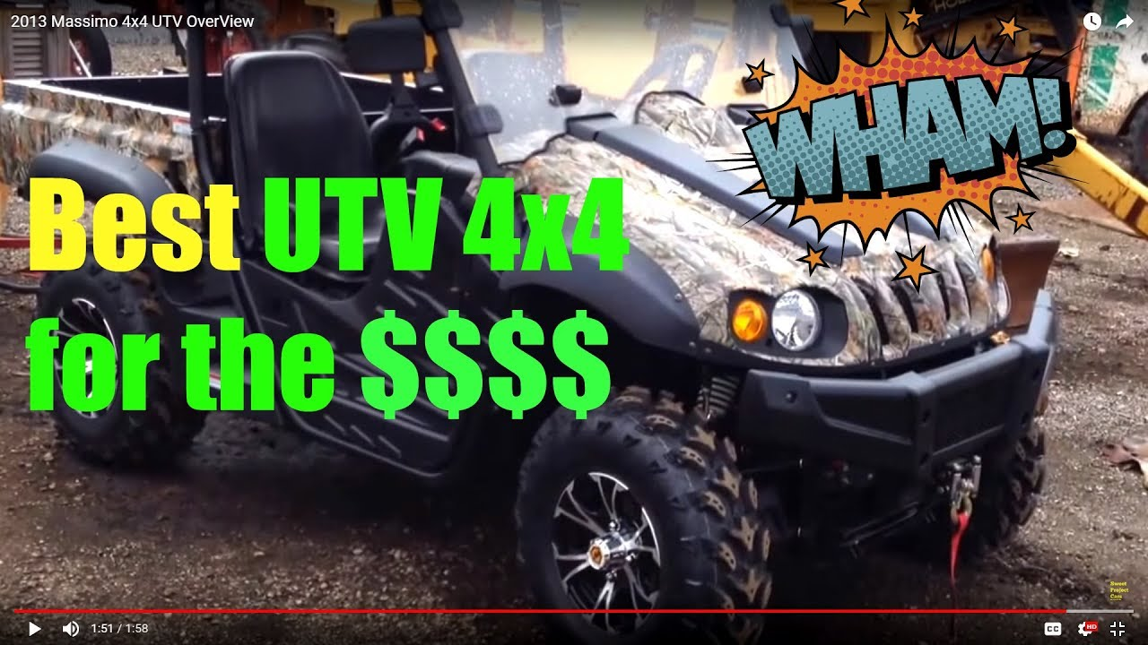 4x4 UTV OverView    Plus Best UTV OR ATV Tires