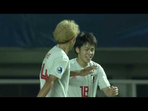 Thailand 1-3 Japan (AFC U19 Indonesia 2018 : Group Stage) thumbnail