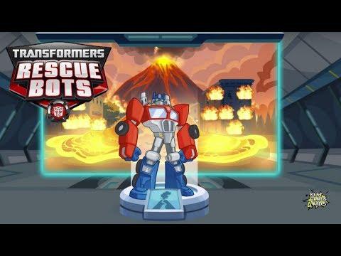 Transformers Rescue Bots: Disaster Dash Hero Run #221 | OPTIMUS PRIME: Autobots Leader!