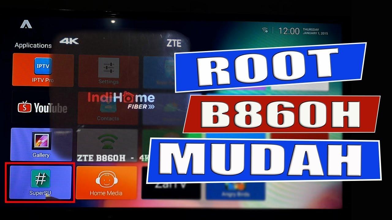 Cara Root Stb Zte B860h Tanpa Bongkar Youtube