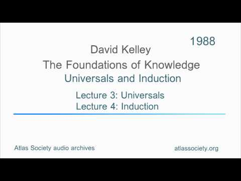 3. Universals and Induction