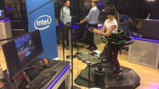 iem 2017 intel lounge expo vr walk game play