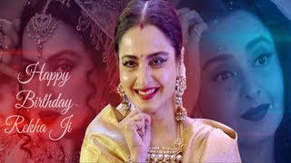 Actress Rekha Birthday Special