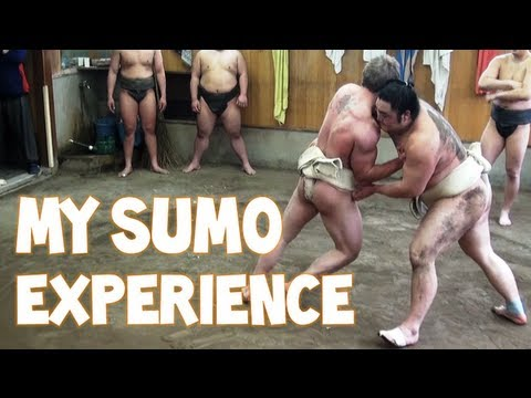 My Sumo Experience in Tokyo, Japan | Furious Pete
