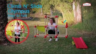 Lil' Monkey Climb N' Slide Olympus assembly instructions