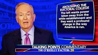 Bill O'Reilly Passionately Defends The White Establishment