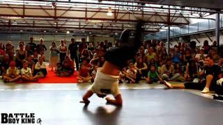 BBOY CHARLEE (HKO) vs BBOY NICO (LCN) - BATTLE BBOY KING 2011