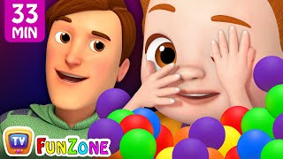 Johny Johny Yes Papa - Peek A Boo plus More Nursery Rhymes & Kids Songs - ChuChuTV Funzone