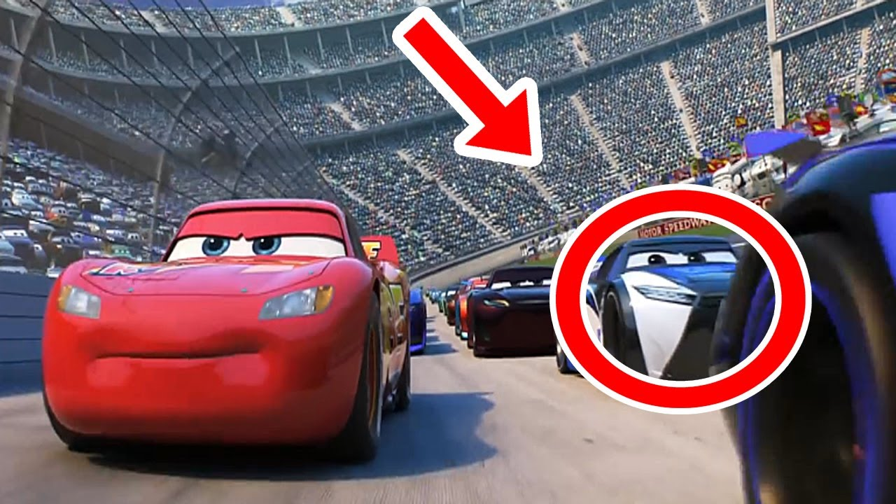 9 curiosidades sobre cars 3 la pel cula youtube. Black Bedroom Furniture Sets. Home Design Ideas