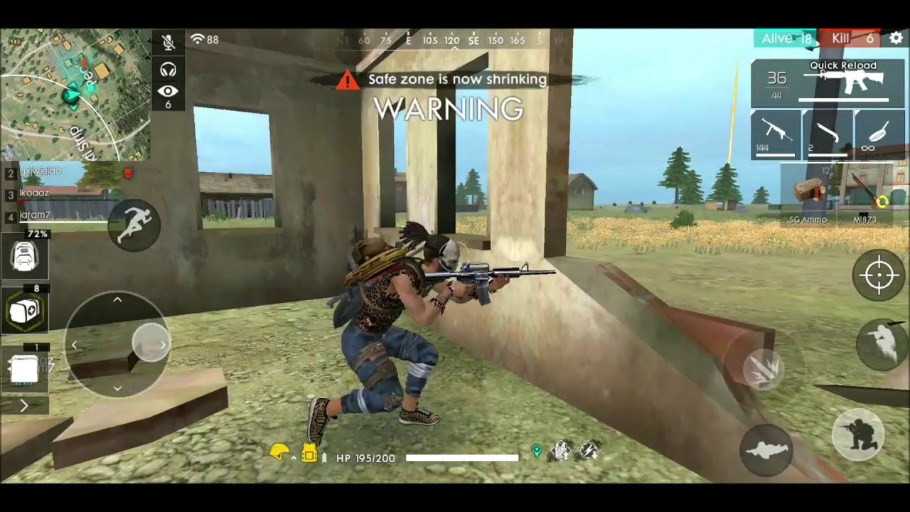 11 Kill Squad Gameplay Free Fire Bg Youtube