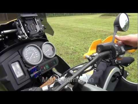 Jumpstart *** BMW R 1150 GS *** Fremdstarten *** Gespann, Sidecar