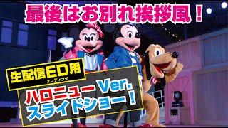 (TwT)v 最後はお別れ挨拶風!/生配信・新ED「ハロニューVer.」スライドショー