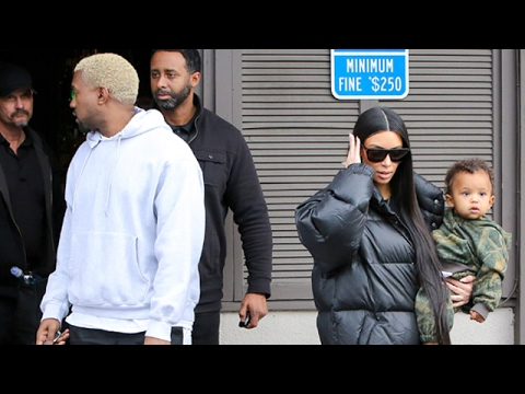 Kim Kardashian And Kanye West Get Sushi With Kourtney