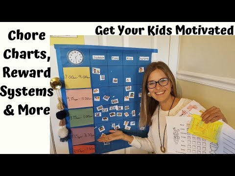Chore Charts, Reward Systems, Helping Kids Form Good Habits and Routines Parenting Tips