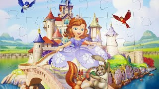 Puzzle ПАЗЛЫ Собираем Пазл София Прекрасная / We collect the Puzzle Sofia the Beautiful