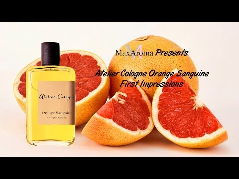 Atelier Cologne Orange Sanguine First Impression