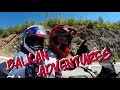 Around the Adriatic Sea on a Motorcycle  -  Balkan Roadtrip (Best-of Trailer)