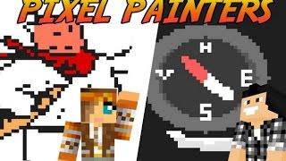 MA BELLE BAGUETTE ! | PIXEL PAINTERS ( Avec Popigames ) | Minecraft