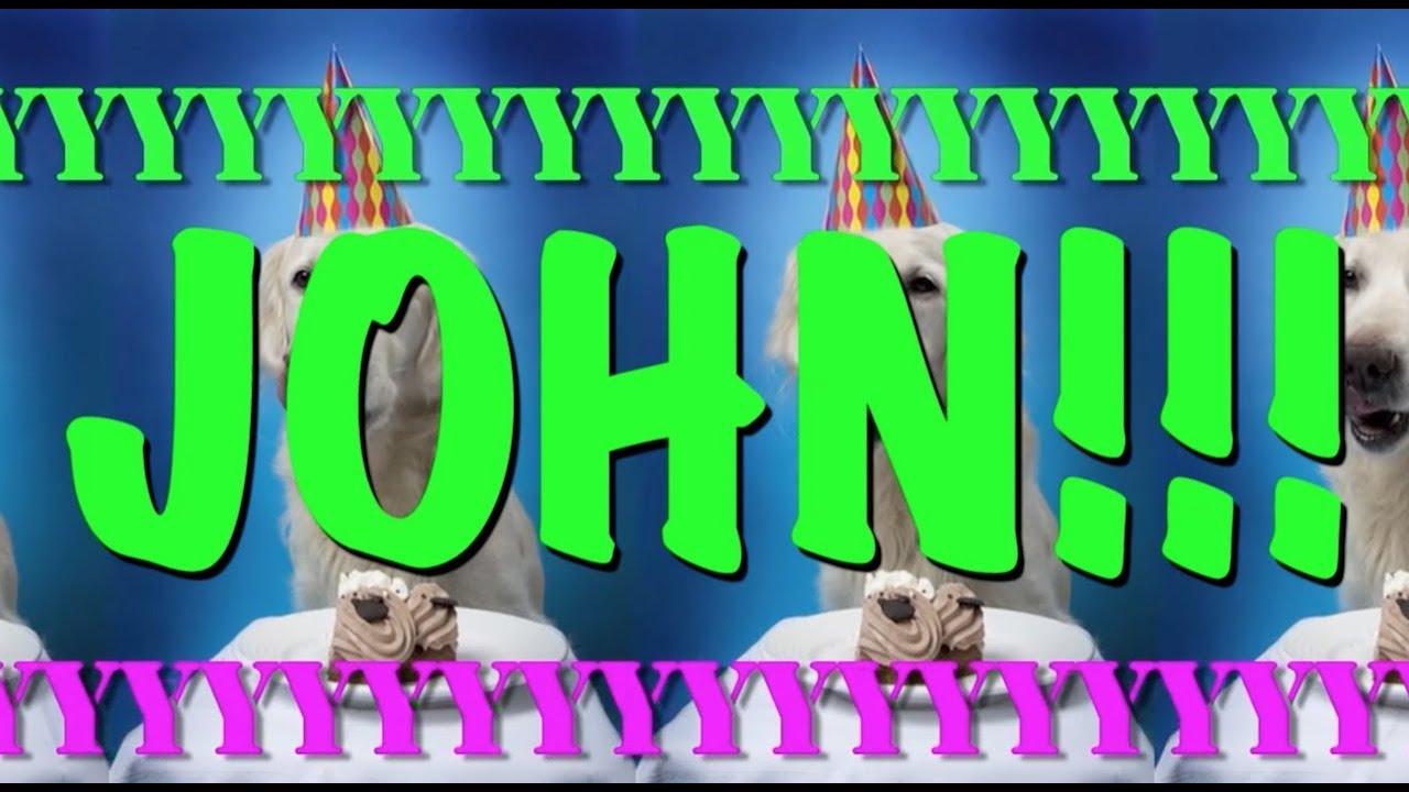Happy Birthday John Epic Happy Birthday Song Youtube