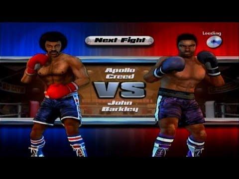 Rocky Legends: Apollo Creed vs John Barkley Fight 4