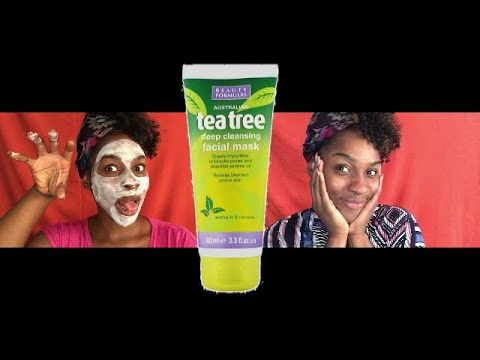 TEA TREE FACIAL MASK || REVIEW ~ HIGHLY RECOMMEND! 👍🏾✨💯 | KerenHappuch