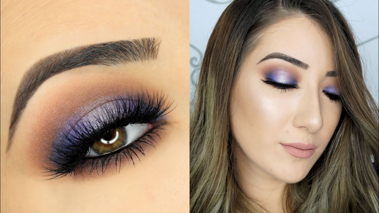 how to get purple eyes without contacts