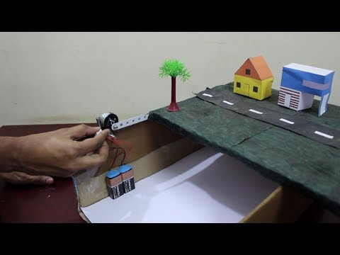 How to make working earthquake model - school project