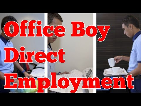 Office  Boy Direct employment Visa  | Azhar Consultants LLC Dubai Dubai Jobs / Dubai Jobs